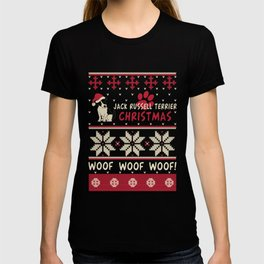 Jack Russell Terrier christmas gift t-shirt for dog lovers T-shirt