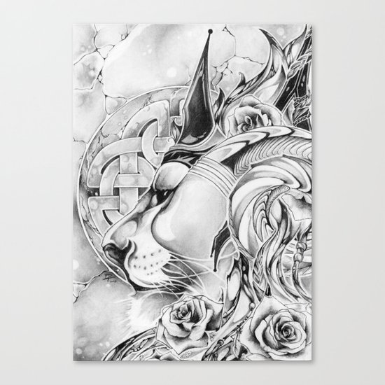 King of Roses Canvas Print