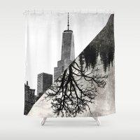 balance Shower Curtains featuring Balance by DV designstudio