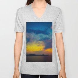 My sunset Unisex V-Neck