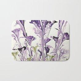 Lilac flower Bath Mat