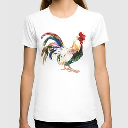 Rooster, Rooster art, Country style design T-shirt