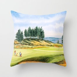 Gleneagles Kings Golf Course Scotland Throw Pillow