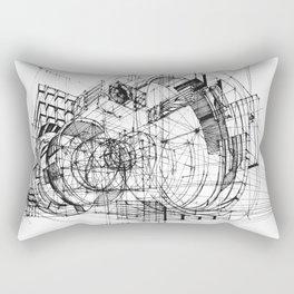 Architecture Fantasy 00347 Rectangular Pillow