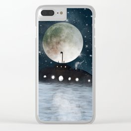 the astrologer Clear iPhone Case