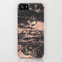 Marble Black Rose Gold - Dope iPhone Case