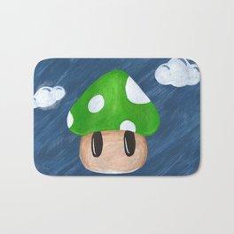 1Up in the Sky Bath Mat