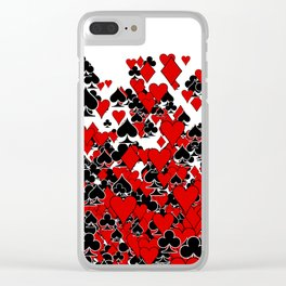 Poker Star Clear iPhone Case