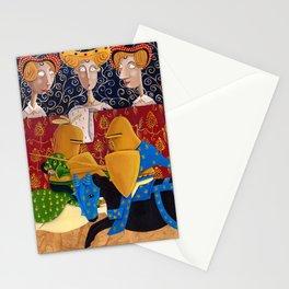 L'Epoca di Federico II - La giostra Stationery Cards