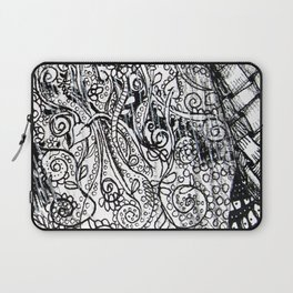 Black and White Design 2 Laptop Sleeve