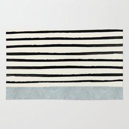 Silver x Stripes Rug