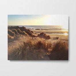 Formby Beach Metal Print