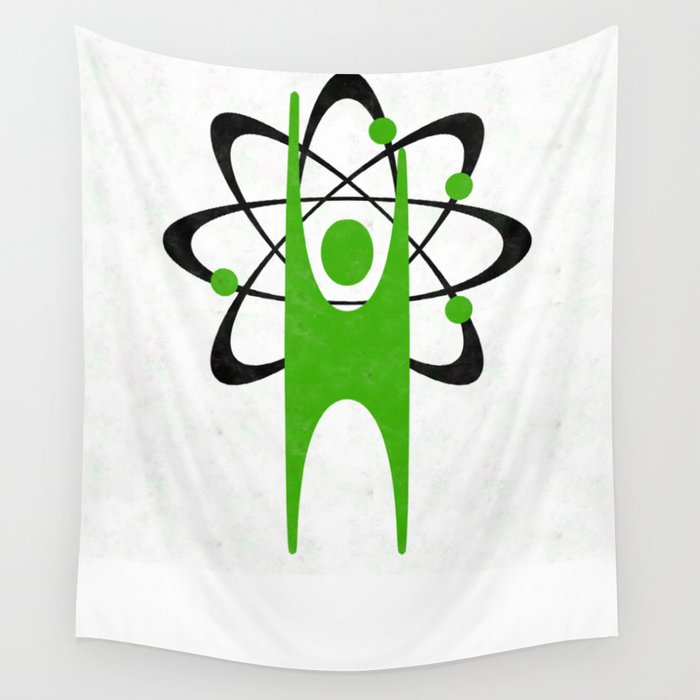 Science Happy Human Wall Tapestry