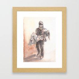 Final Walk Framed Art Print