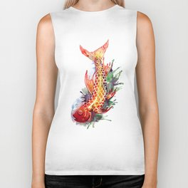 Fish Splash Biker Tank