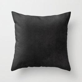 Simple Chalkboard background- black - Autum World Throw Pillow