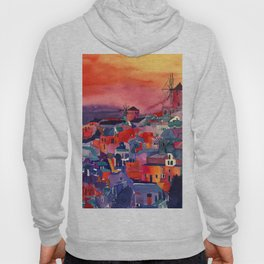 Sunset on Santorini Hoody