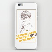 rushmore iPhone & iPod Skins featuring Rushmore by Michelle Eatough