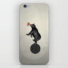 bear balance iPhone & iPod Skin