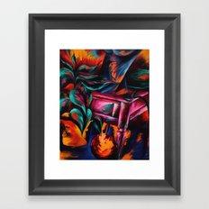 Expressionistic Still Life Framed Art Print