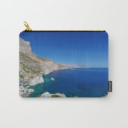 The famous Agia Anna beach of Amorgos island in Cyclades, Greece Carry-All Pouch