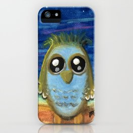 Living by the Light of the Moon iPhone Case