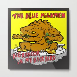 Sihfits - The Blue Milkmen Metal Print