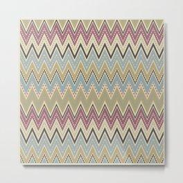 Ethnic patterns. Tribal pattern . Metal Print
