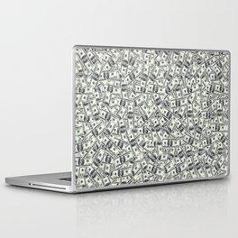 Giant money background 100 dollar bills / 3D render of thousands of 100 dollar bills Laptop & iPad Skin