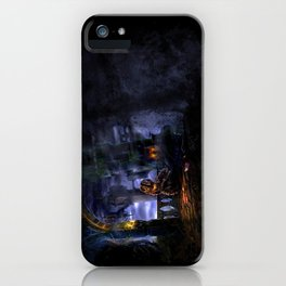 Castlevania: Vampire Variations- Bridge iPhone Case