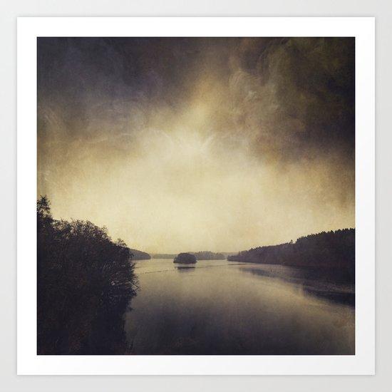 Quiet Water Art Print