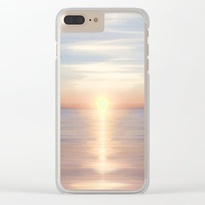 Sea of Love II Clear iPhone Case