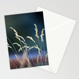 waiting in the weeds Stationery Cards