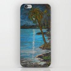 Tropical Moon Reflection II iPhone & iPod Skin