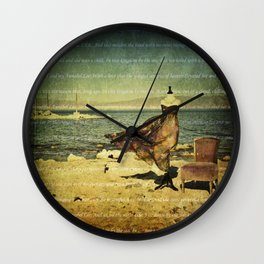 Annabel Lee Wall Clock