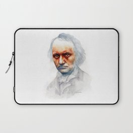 Charles Baudelaire Laptop Sleeve