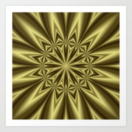 Gold Nugget Art Print