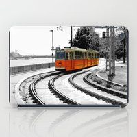 budapest iPad Cases featuring Budapest Tram by Dan Davidson