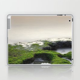 """Green, white and red beach"" Laptop & iPad Skin"