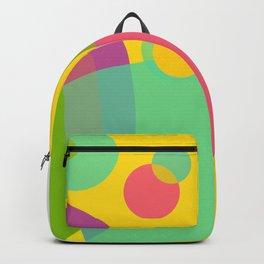 Colorful Funky Bottle Shapes I Backpack