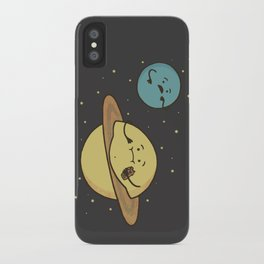 Faturn iPhone Case