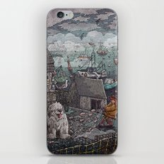 Home for the Harbor iPhone & iPod Skin