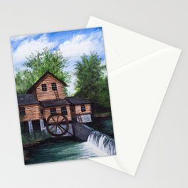 Alley spring mill Stationery Cards