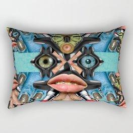 PORTRAIT OF SPENDTHRIFT WOMAN Rectangular Pillow