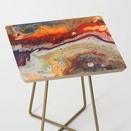 Fiery closeup Side Table