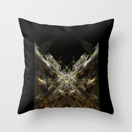 rorschach grand place brussels belgium Throw Pillow