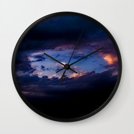 Hole In The Sky Wall Clock