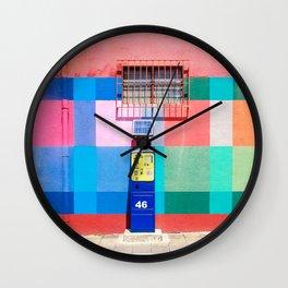 City Colors Wall Clock