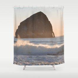 CAPE KIWANDA SUNSET - OREGON Shower Curtain