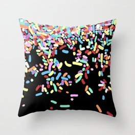 Sprinkles Throw Pillow